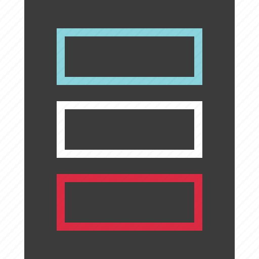 banner, banners, layout icon