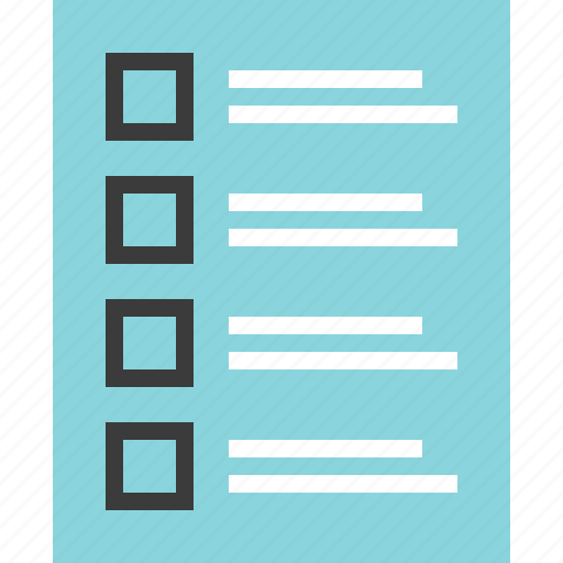 list, mockup, post, view icon