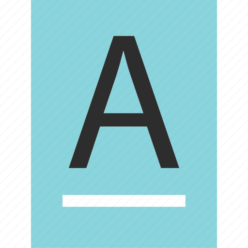 a, content, creation, document, letter, sign, write icon