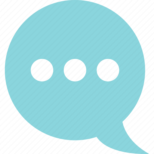 bubble, chat, converation, loading, online, web icon