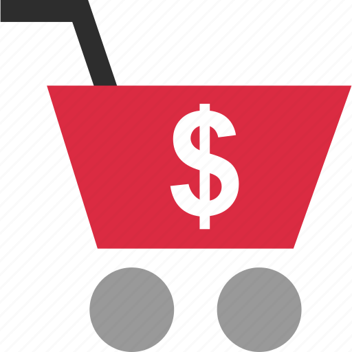 cart, dollar, ecommerce, sign icon