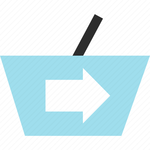 cart, ecommerce, go, hand icon