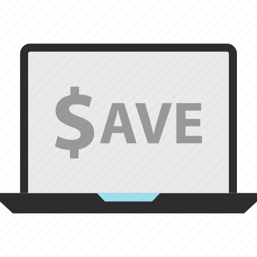 ecommerce, now, save icon