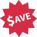 sale, save, savings, tag icon