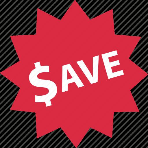 sale, save, savings, tag icon