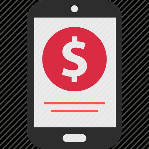 ecommerce, money, shop icon