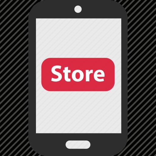 arrow, click, ecommerce, store icon