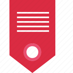 bookmark, business, description, inernet, online, tag, web icon