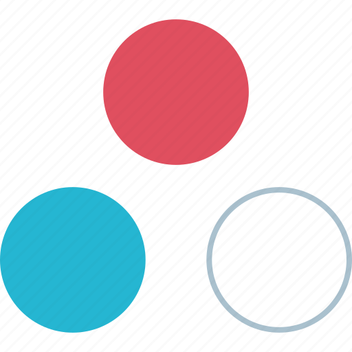 colors, dots, multiple icon