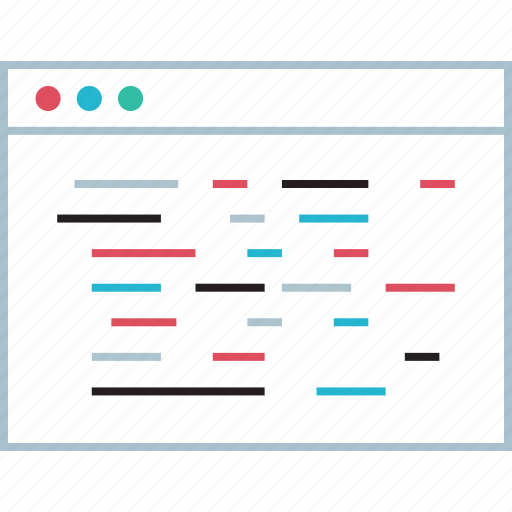 script, web, window icon