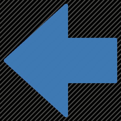 action, arrow, left icon