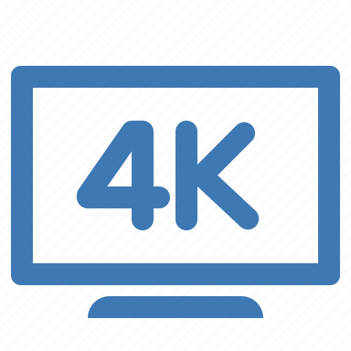 hd, screen, television, tv, ultra, very high definition icon