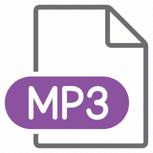 create, extension, file, mp3, new, type icon