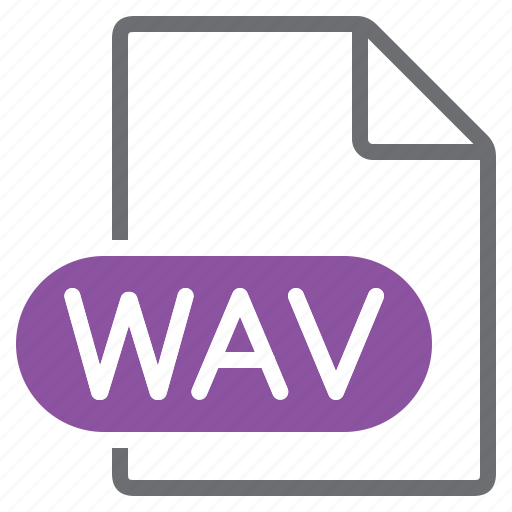 Create, extension, file, new, type, wav icon - Download on Iconfinder