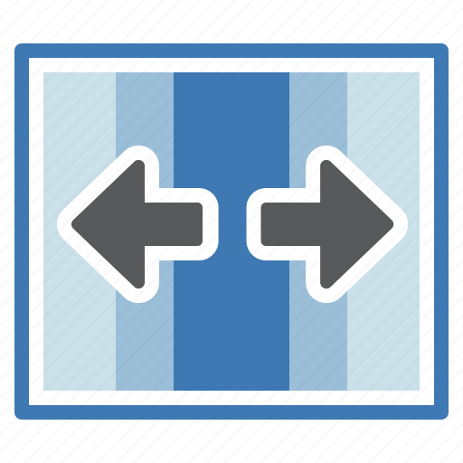 split, transition icon