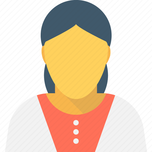 avatar, cashier, female worker, lady, manager icon
