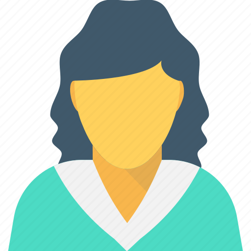 Clerk, lady, receptionist, secretary, woman icon - Download on Iconfinder
