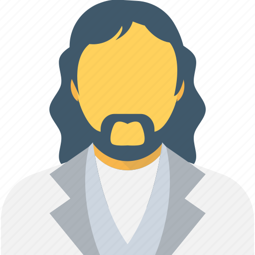 client, customer, french beard, male, person icon