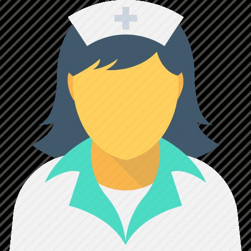 avatar, female nurse, lady doctor, medical assistant, nurse icon