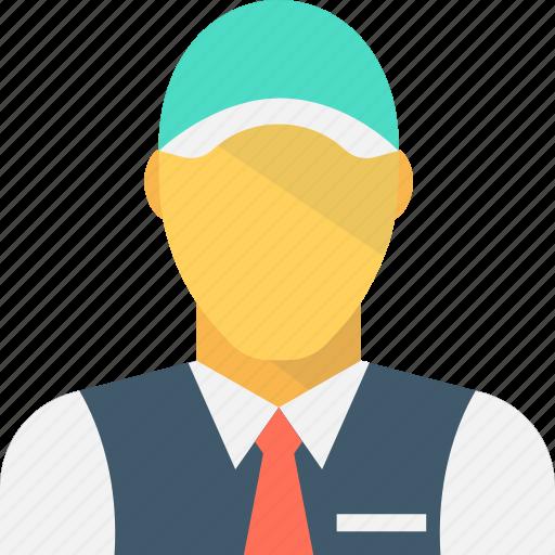 courier, dispatcher, letter carrier, mailman, postman icon