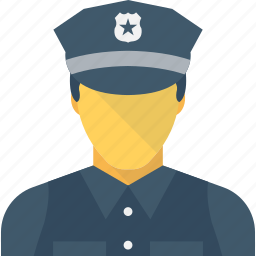 constable, cop, peace officer, police officer, policeman icon