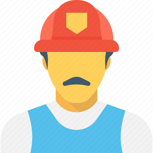 construction worker, employee, factory worker, industrial worker, labourer icon