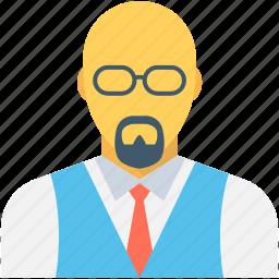 accountant, boy, corporate person, financial advisor, investor icon