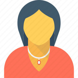 boss, female, lady, woman, woman manager icon