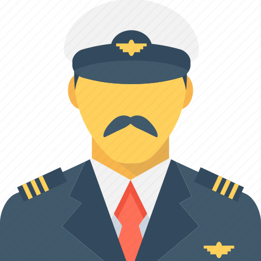 army captain, army major, captain, pilot, sergeant icon