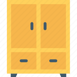 cabinet, closet, cupboard, furniture, wardrobe icon