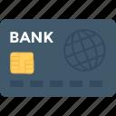 atm card, bank card, credit card, debit card, modern banking icon