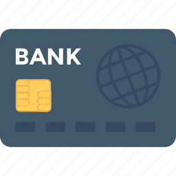 atm card, bank card, credit card, debit card, modern banking icon