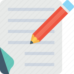 agreement, document, pencil, signature, writing icon