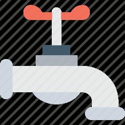 faucet, plumbing, tap, water supply, water tap icon