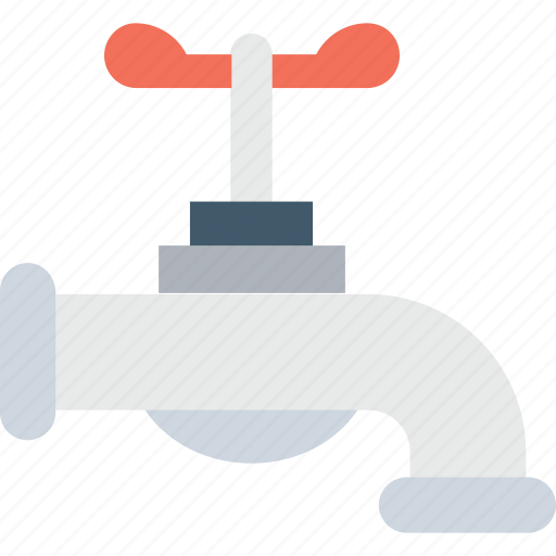 faucet, plumbing, tap, water supply, water tap icon