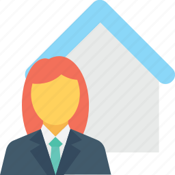 architect, homeowner, investor, property adviser, property agent icon