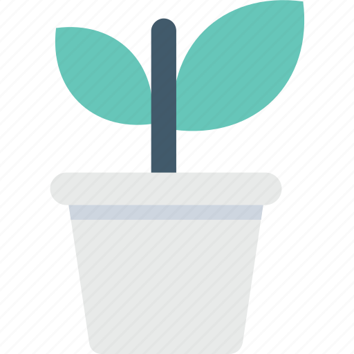 greenery, plant, plantation, potted plant, small plant icon