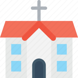 building, chapel, church, religious building, temple icon