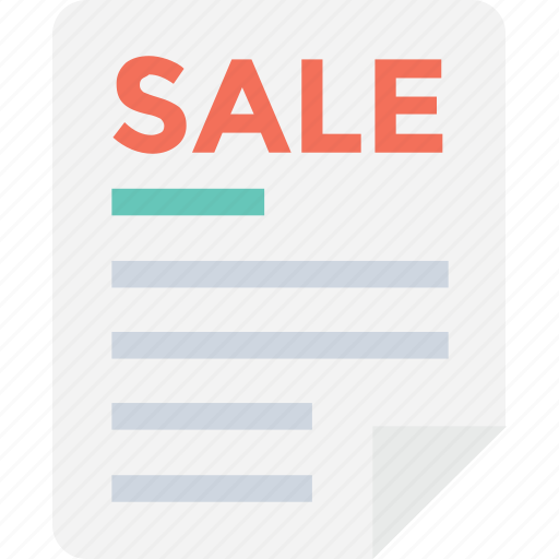agreement, contract, documentation, legal document, sale icon