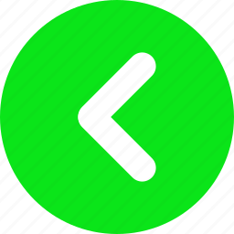 arrow, click left, go left, green arrow, move left, slider arrow icon