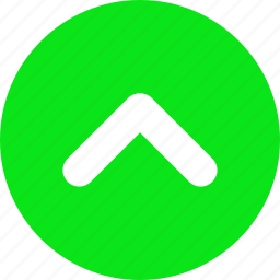 arrow, green, head, pull, top, up icon