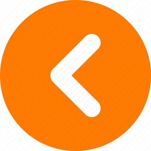 arrow, move left, orange, orange arrow, slider arrow icon