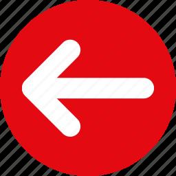 left, left arrow, move left, slider left icon