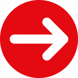 arrow, move, move right, red arrow, red arrow right, right, slider icon