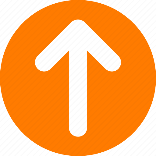 Image result for ORANGE TOP ARROW