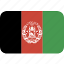 afghanistan, round, rectangle