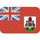 bermuda, round, rectangle