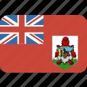 bermuda, round, rectangle icon