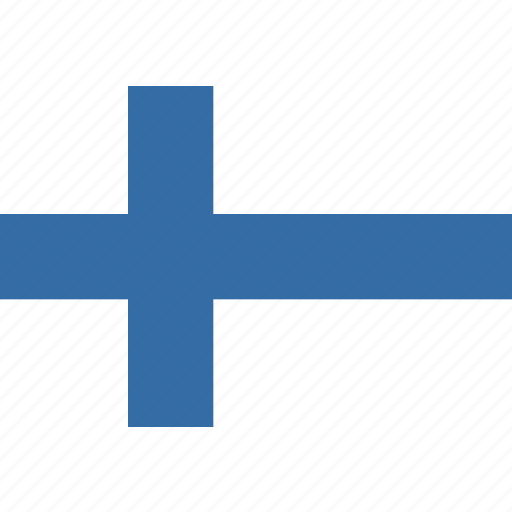 finland, rectangle, round icon