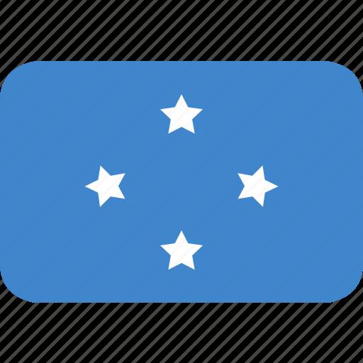 micronesia, rectangle, round icon